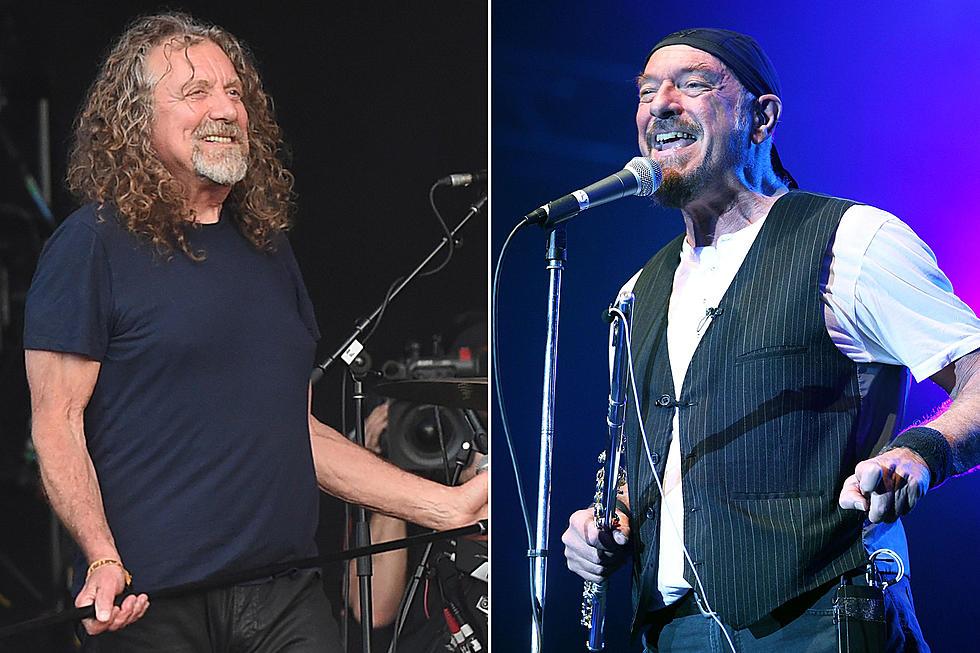 Robert Plant and Ian Anderson