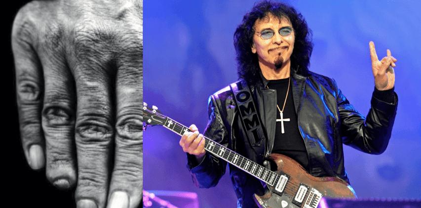 Tony Iommi fingers