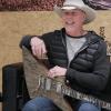 James Hetfield wood guitar