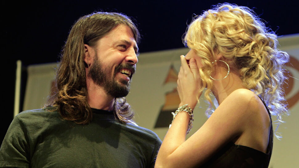 Dave Grohl girlfriend