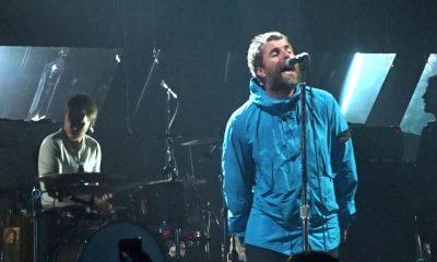 Liam Gallagher with Bonehead 2018