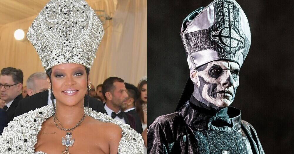 Rihanna and Papa Emeritus