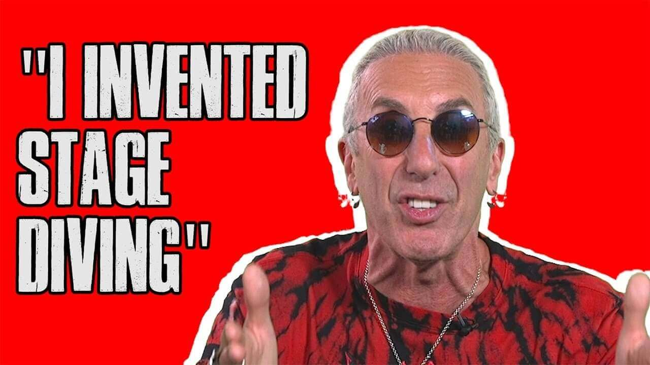 Dee Snider invented Stage Diving
