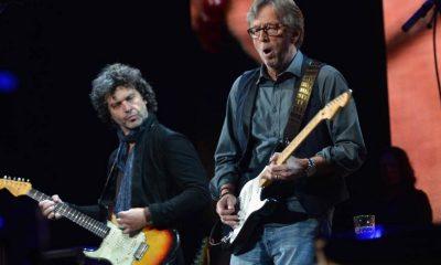 Doyle Brahmhall II and Eric Clapton