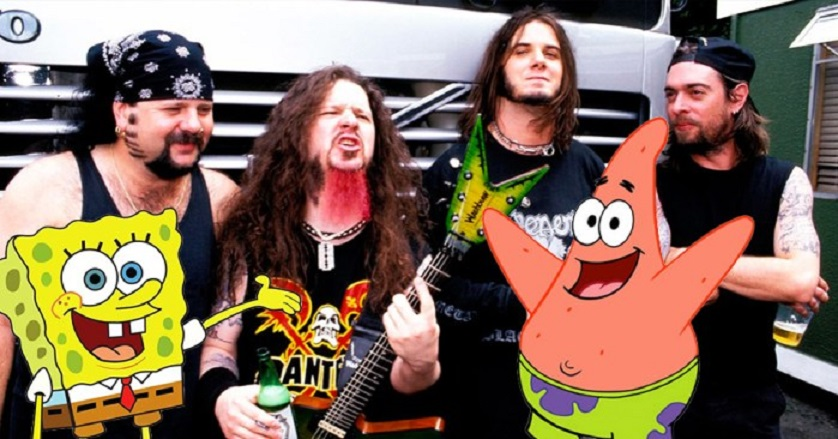 Pantera and Spongebob