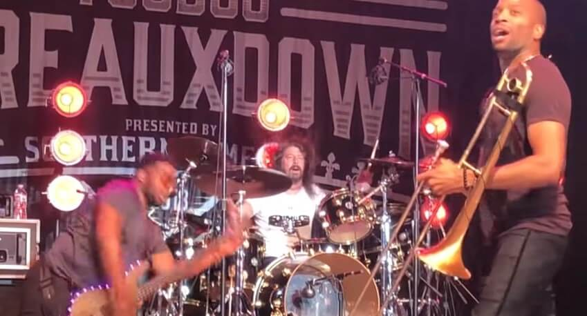 Dave Grohl and Trombone shorty