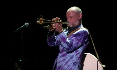 Flea playing Trumpet