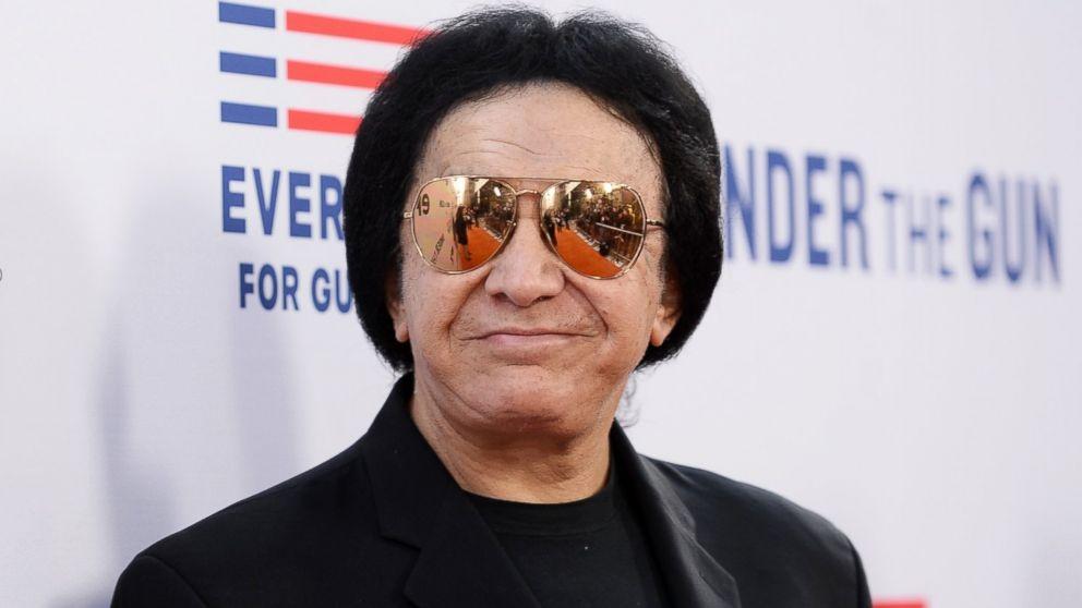 Gene Simmons sunglasses