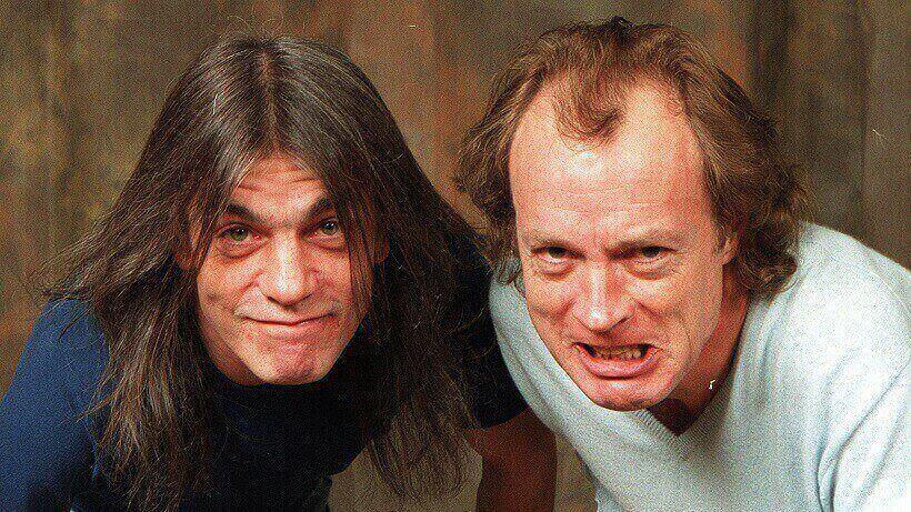 Malcom Young and Angus Young