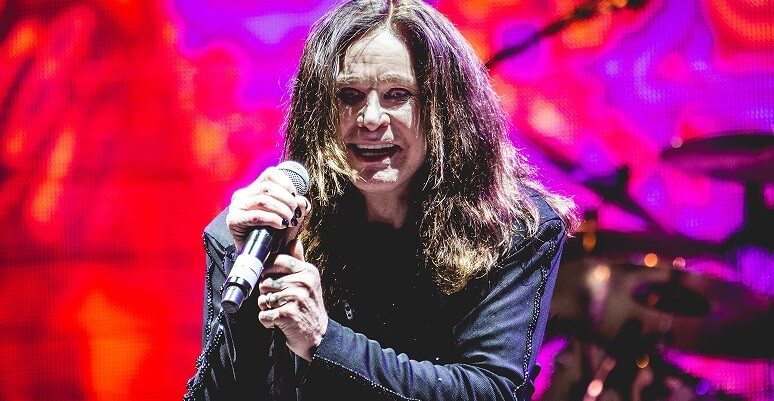Ozzy Osbourne crazy face