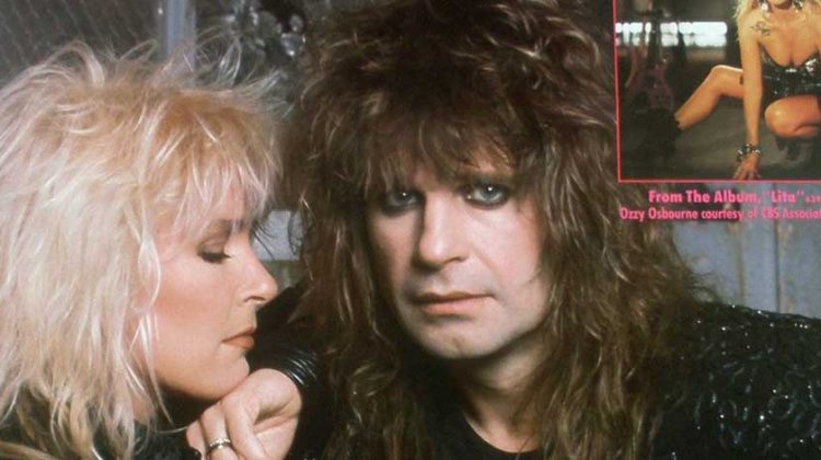 Ozzy and Lita Ford