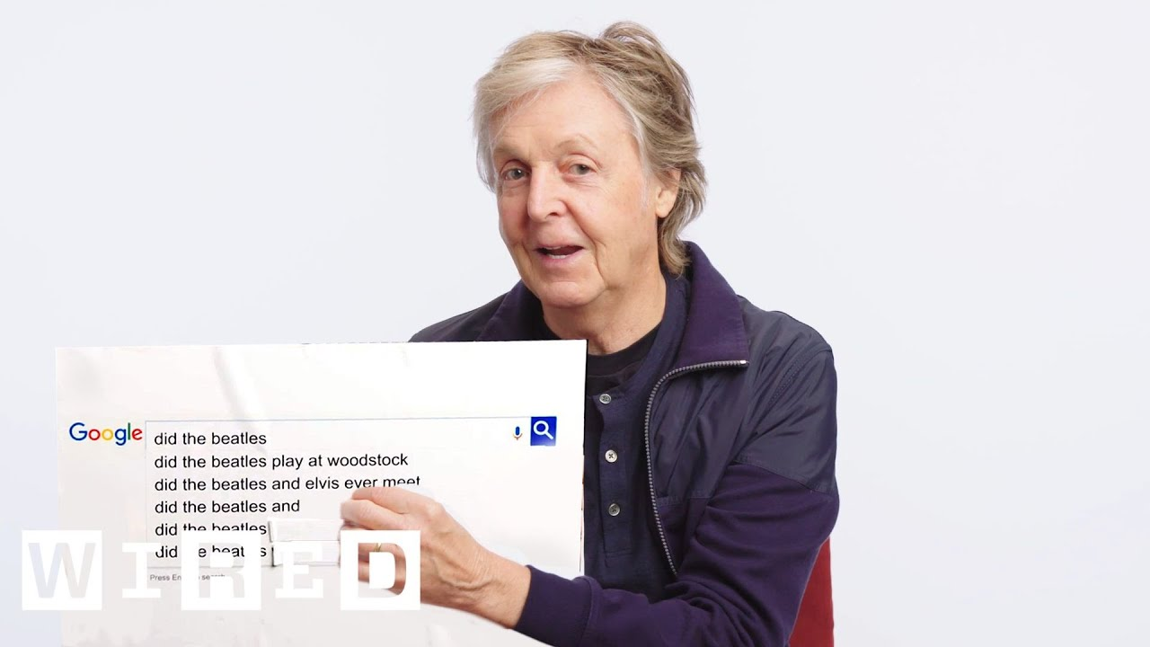 Paul McCartney Answers the Web's Most Searched Questions