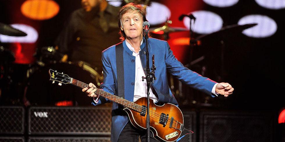 Paul McCartney bass 2018