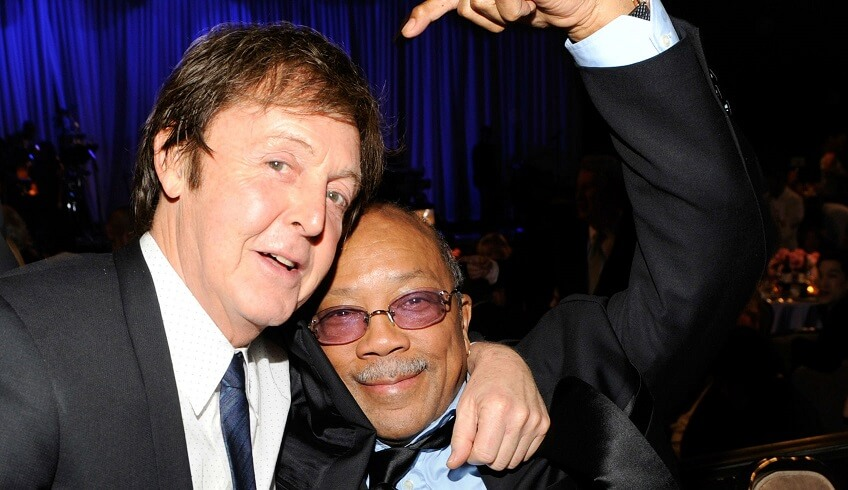 Quincy Jones and Paul McCartney