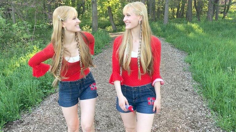 The Harp Twins Norwegian Wood