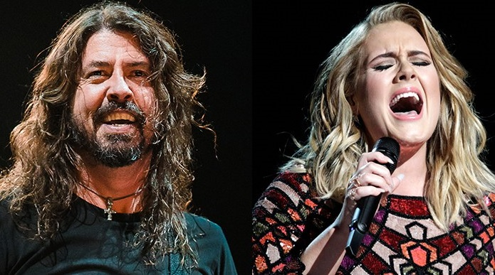 Dave Grohl Adele