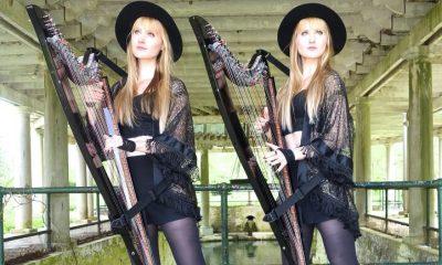 Harp Twins performing Fleetwood Mac's Rhiannon