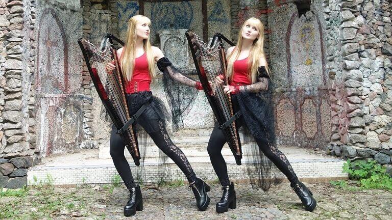 The Harp Twins paranoid