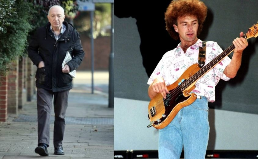 John Deacon now and then