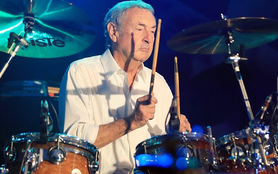 Nick Mason drums