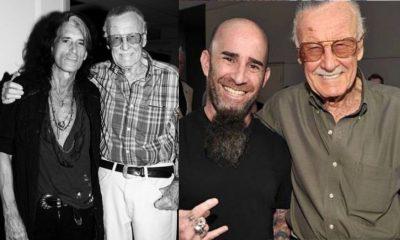 Rockstars react to Stan Lees death