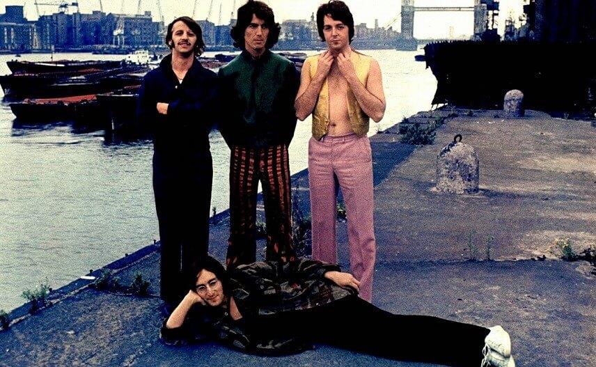 The Beatles rare photo