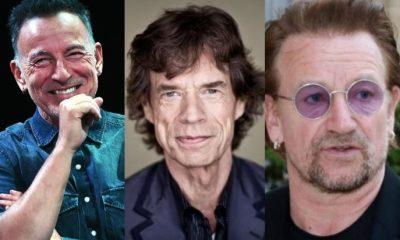 Bruce Springsteen Mick Jagger Bono Vox
