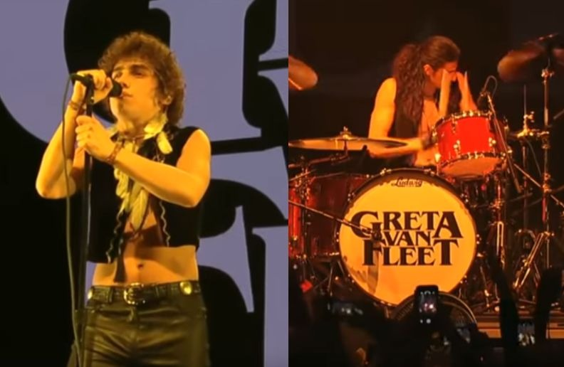 Greta Van Fleet at KROQ festival