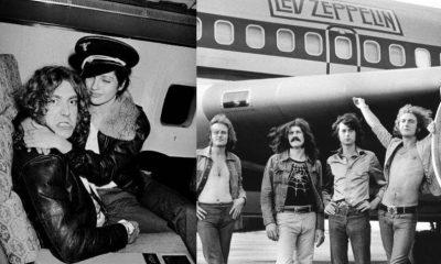 Led Zeppelin airplane