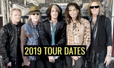 Aerosmith tour dates 2019