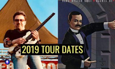 Blue Oyster Cult tour dates