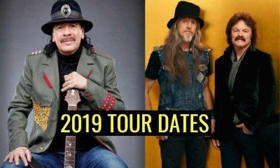 Carlos Santana and Doobie Brothers 2019 tour