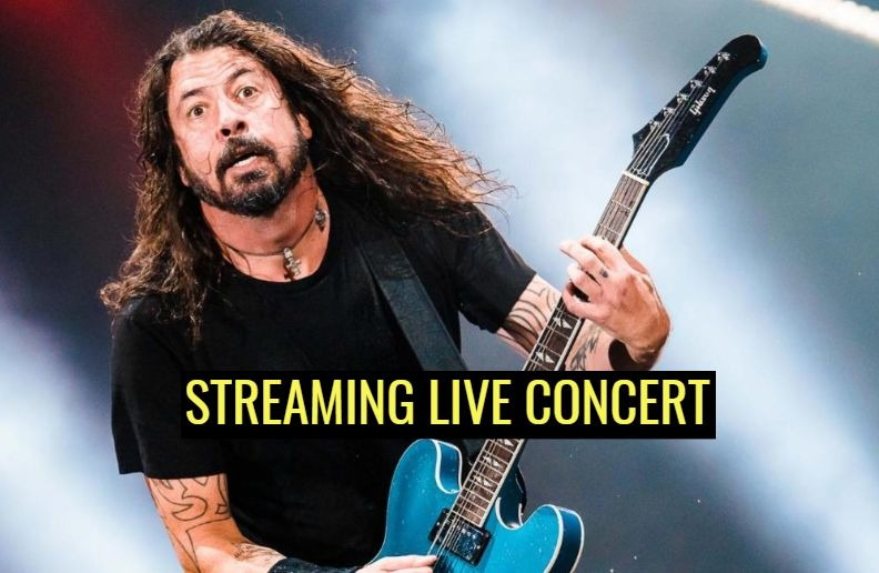 Foo Fighters streaming live concert