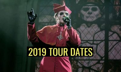 Ghost 2019 tour dates