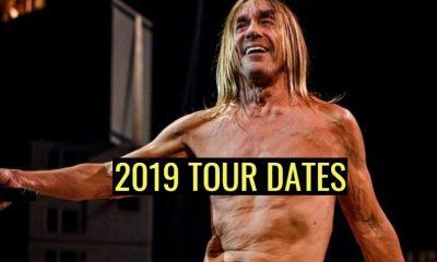 Iggy Pop 2019 tour dates