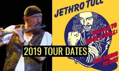 Jethro Tull 2019 tour dates