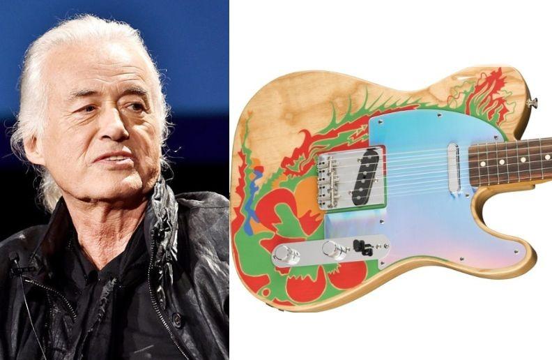 Jimmy Page Dragon guitar