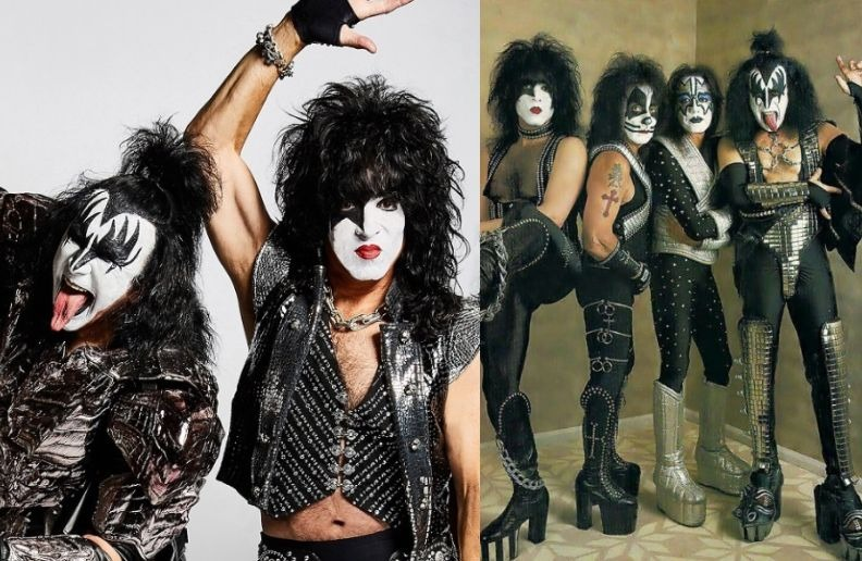 KISS now and then
