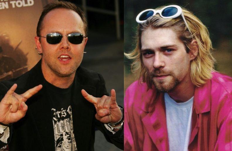 Lars Ulrich Kurt Cobain