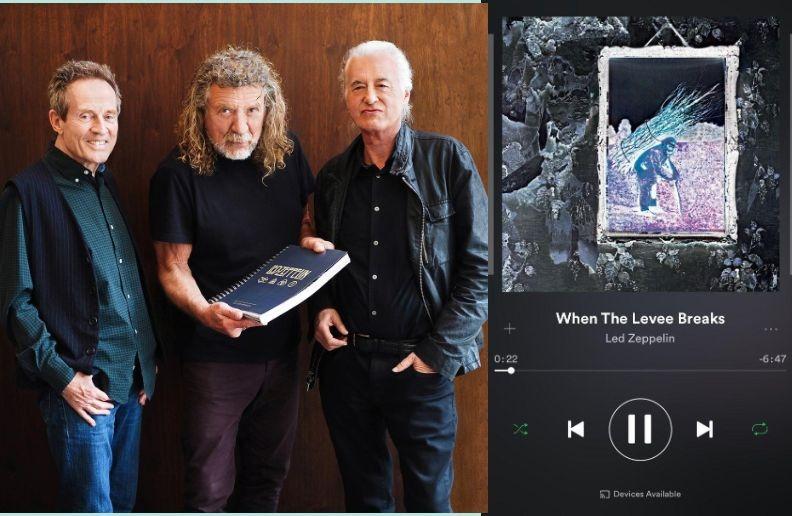 Led Zeppelin streaming