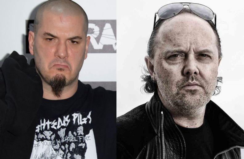 Phil Anselmo Lars Ulrich