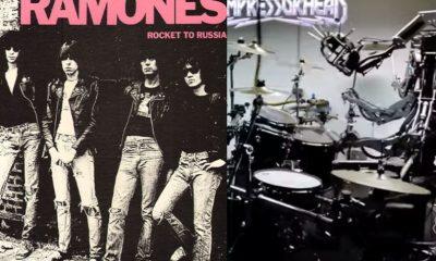 Ramones robot band