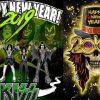 Rockstars wish a happy new year
