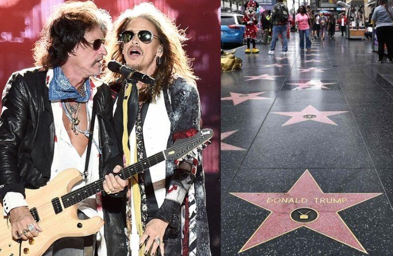 Aerosmith Walk of Fame