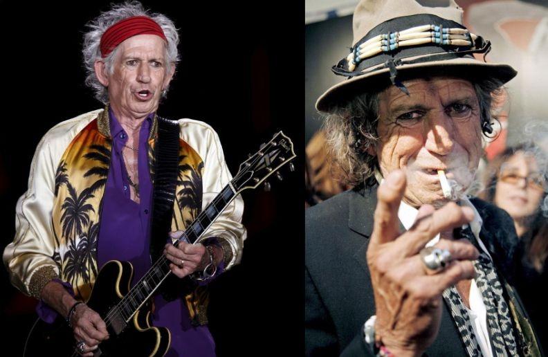 Keith Richards cigar