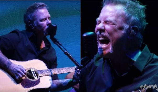 Metallica acoustic enter sandman