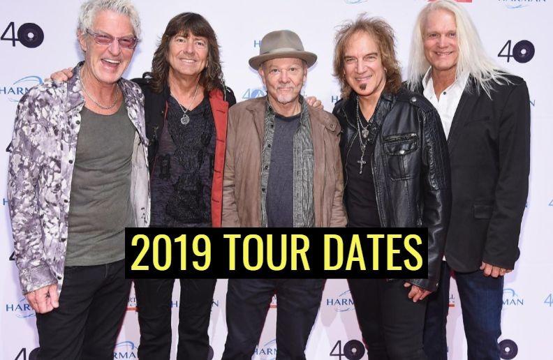 Reo Speedwagon 2019 tour dates