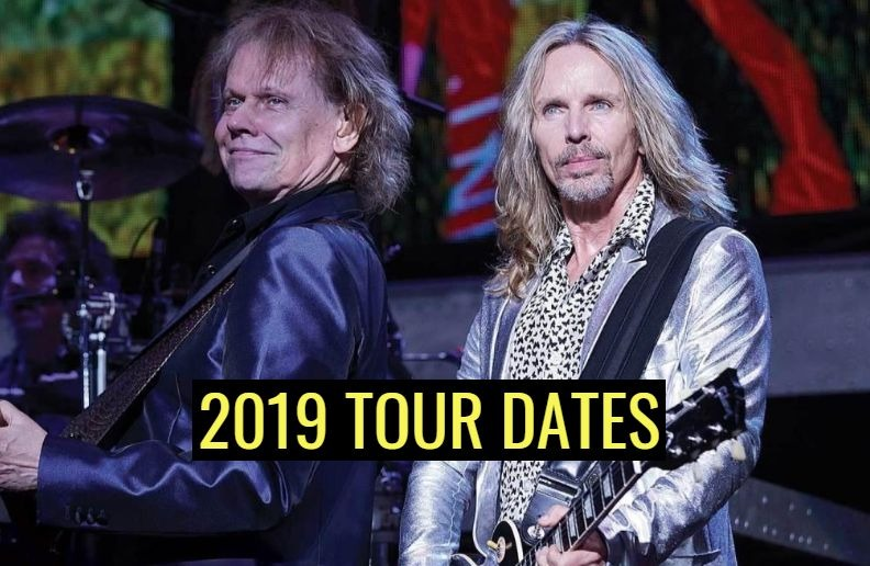 See Styx Tour Dates For 2019