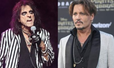 Alice Cooper Johnny Depp