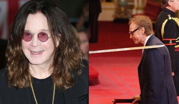 Ozzy Osbourne knighted